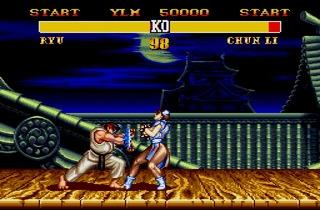 ('Street Fighter II' sur arcade et Super NES / DR)