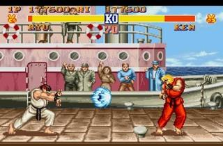 ('Street Fighter II' sur arcade et Super NES / DR)