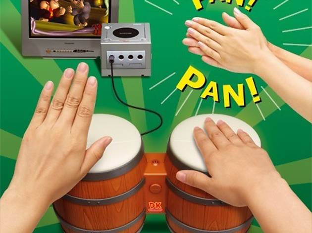 ('Les tam-tam de Donkey Kong Jungle Beat' sur GameCube / DR)