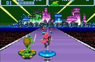 ('Tortues Ninja IV' sur Super NES / DR)