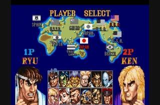 ('Street Fighter II' sur Super NES / DR)
