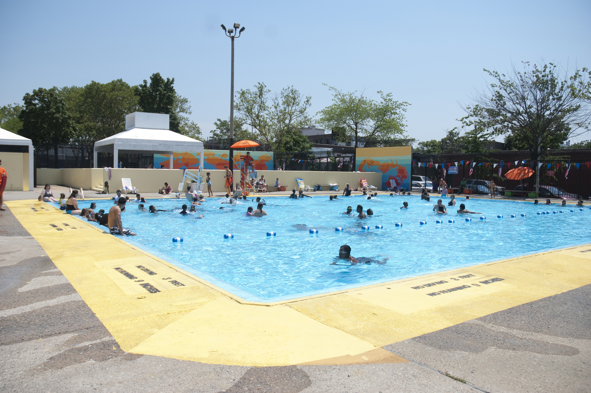Douglass and DeGraw Pool
