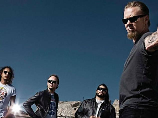 Metallica hará stremings de sus shows