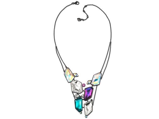 Swarovski mosaic-inspired necklace, $350