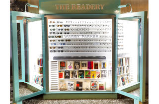 Warby Parker Readery pop-up