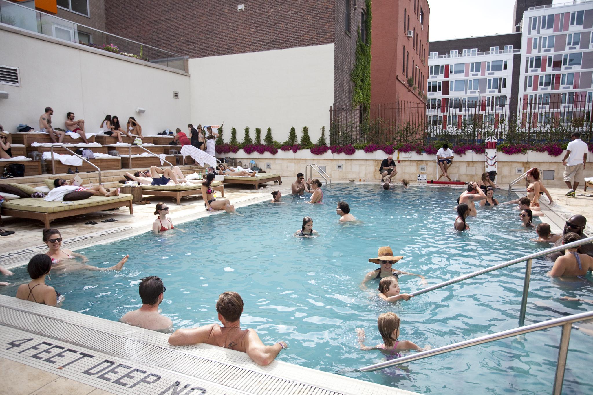 The Pool at King & Grove Williamsburg