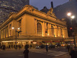Grand Central Terminal opened on February 2, 1913, on the site of the old Grand Central Station (1900) and Grand Central Depot (1871), both of which had above-ground railway tracks. The terminal was designed by architectural firms Reed and Stem, and Warre