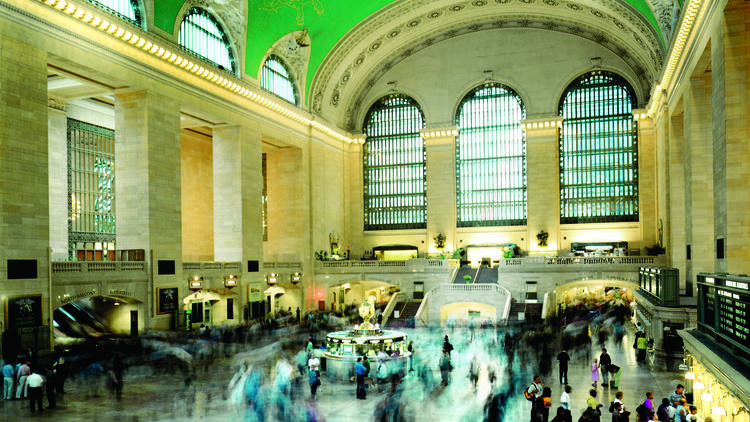 New York attractions: Grand Central Terminal
