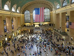 When Grand Central Terminal opened, it was the busiest train station in the country. In 1947, 65 million people (the equivalent of 40 percent of the population) traveled through the terminal. Today it has more working platforms than any other station in t
