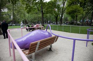 Outdoor public art in NYC 2012 (Photograph: Anna Simonak)