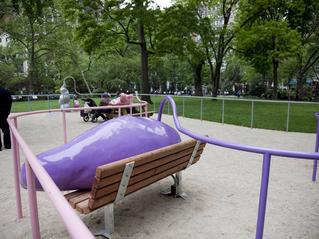 Outdoor public art in NYC 2012 (Photograph: Anna Simonak)