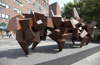 Outdoor public art in NYC 2012 (Photograph: Kayla Rice)