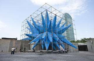 Outdoor public art in NYC 2012 (Photograph: Virginia Rollison)