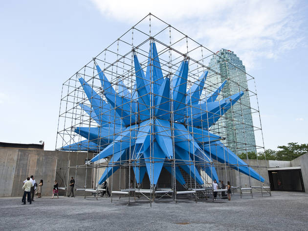 Outdoor public art in NYC 2012 (Photograph: Virginia Rollison)