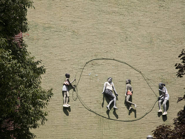 Outdoor public art in NYC 2012 (Photograph: Melissa Sinclair)