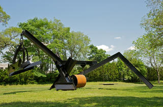 Outdoor public art in NYC 2012