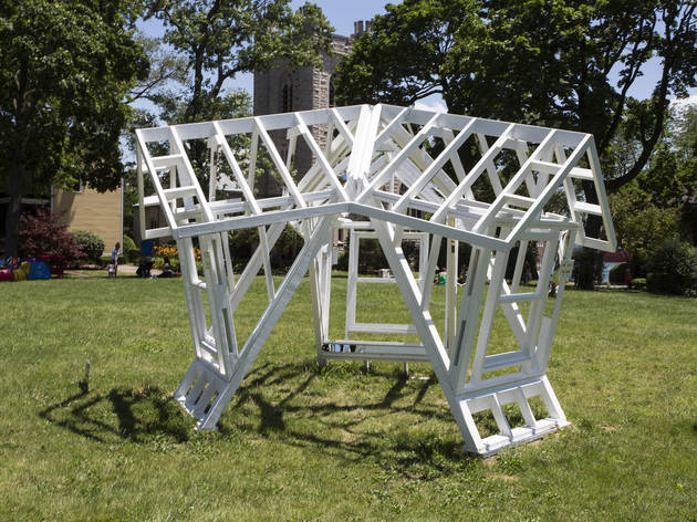 Outdoor public art in NYC 2012 (Photograph: Caroline Voagen Nelson)