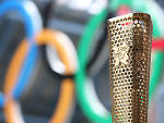 The torch of the London 2012 Olympic Games