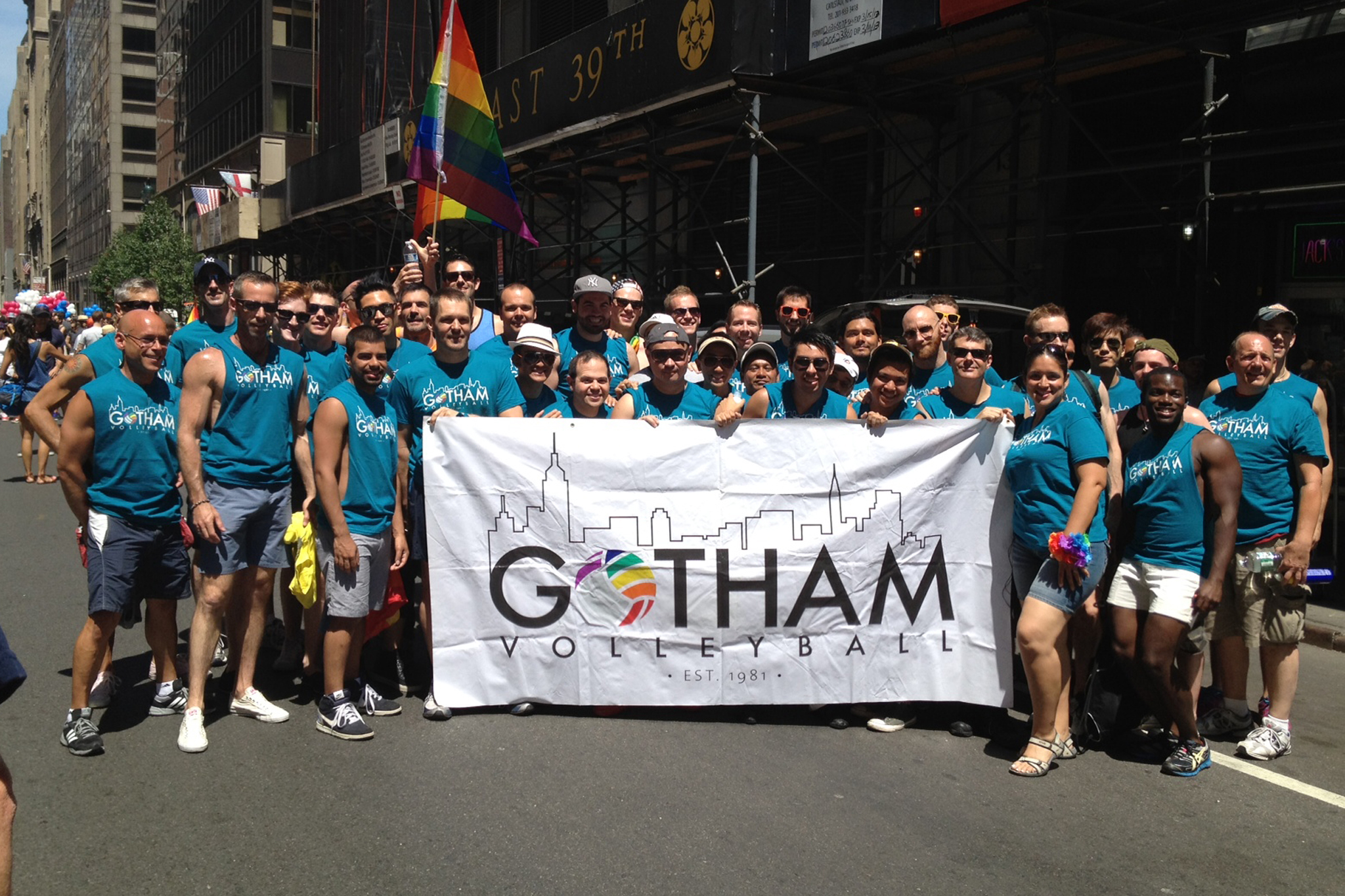Gay sports leagues in NYC