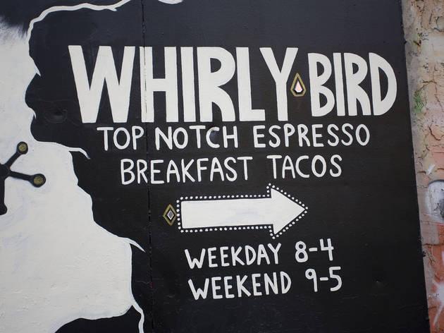 Whirlybird (Photograph: Jolie Ruben)