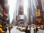 Rendering of Times Square rennovation