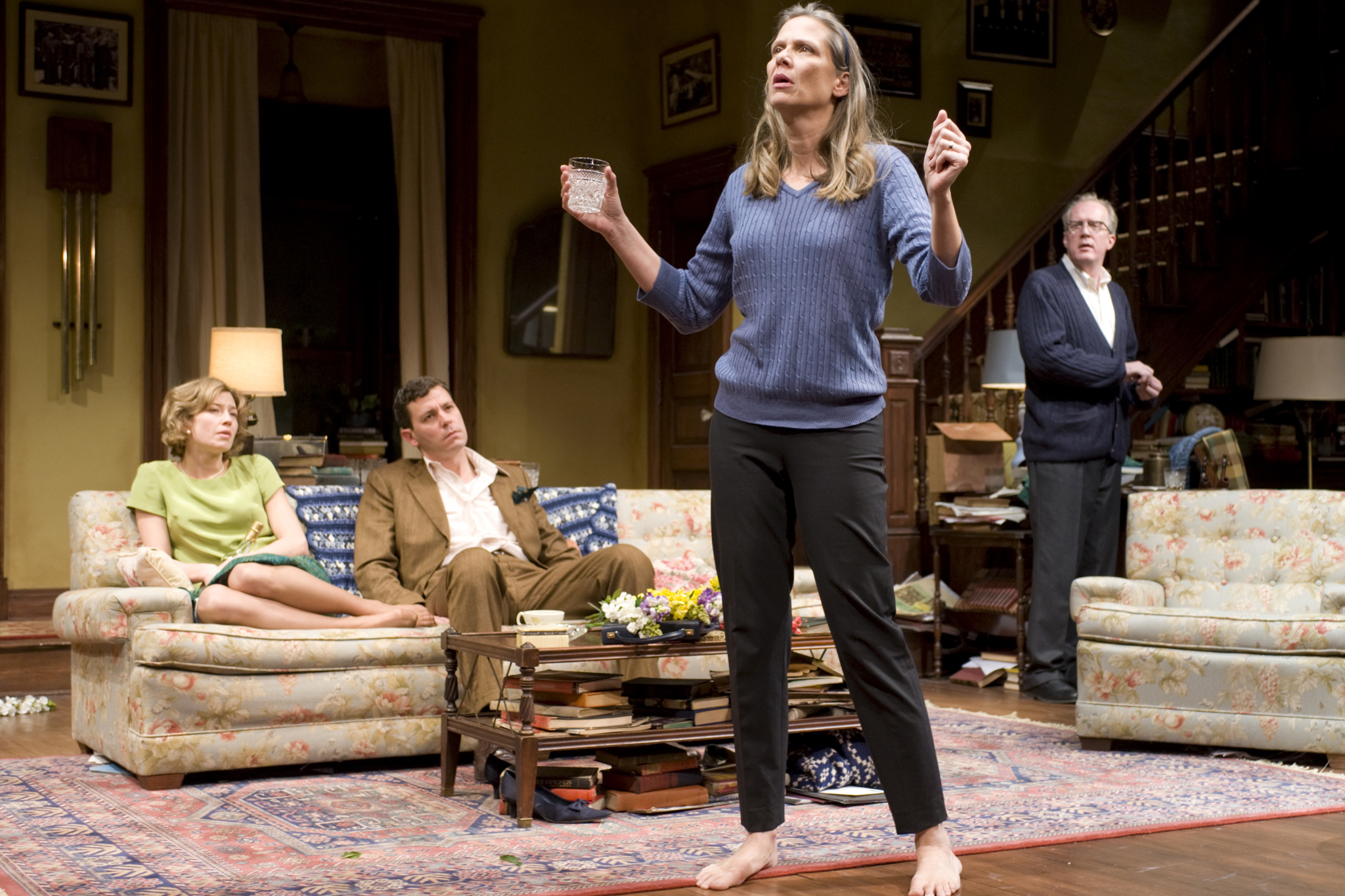 Amy Morton as Martha in Who's Afraid of Virginia Woolf?