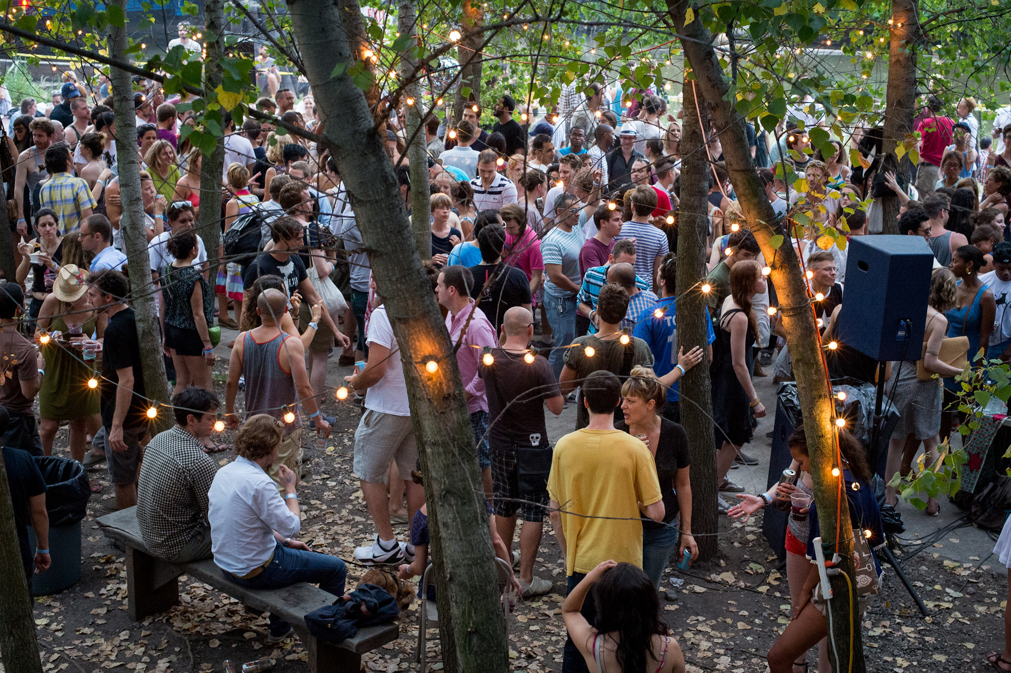 Spend a summer Sunday dancing in Gowanus Grove for one last season