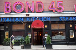 Bond 45 (Photograph: Zenith Richards)