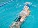 Swimmer at the 92nd Street Y