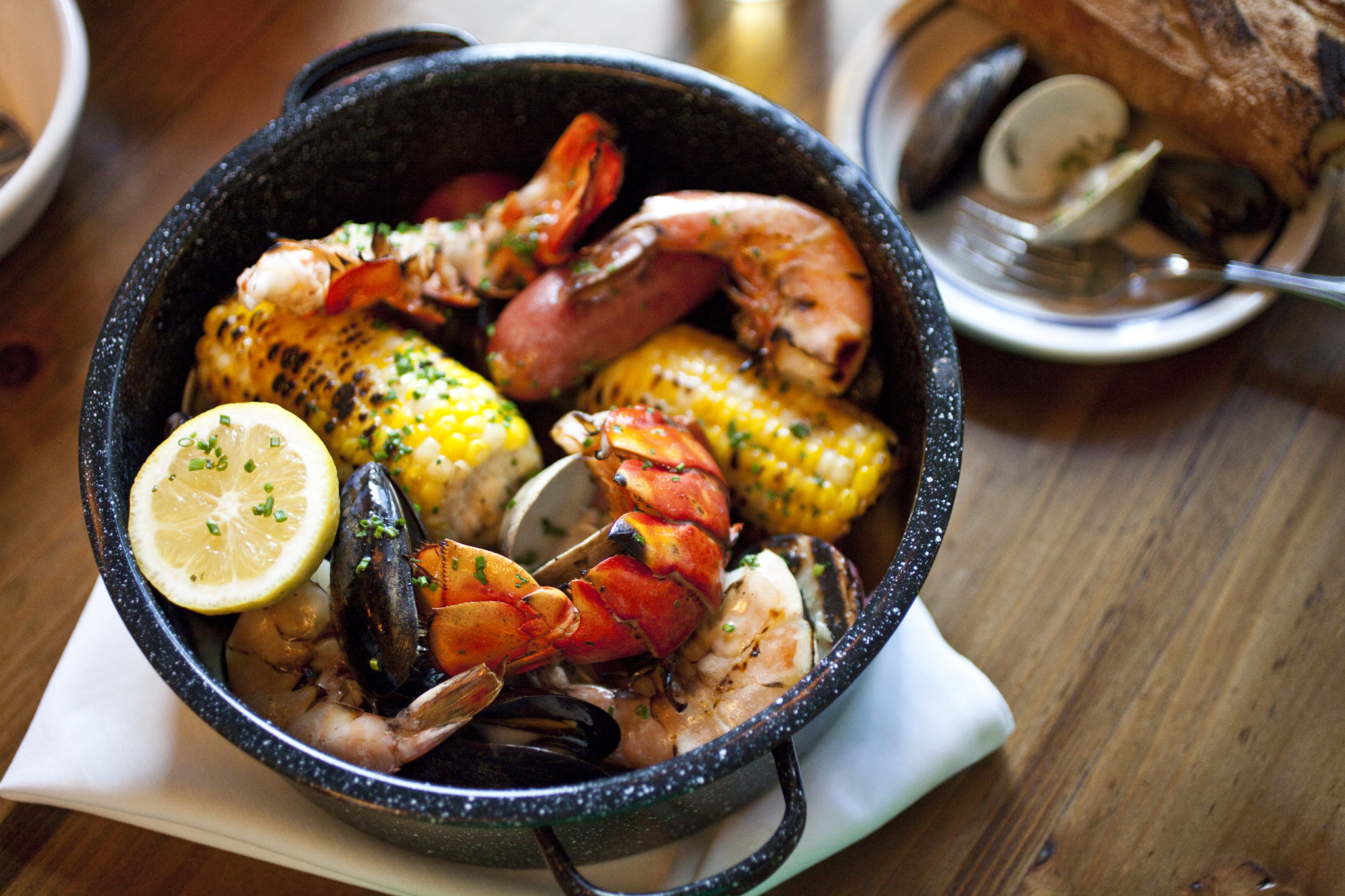 Cape Cod clambake for two at Extra Fancy