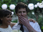 Rashida Jones and Andy Samberg in Celeste and Jesse Forever
