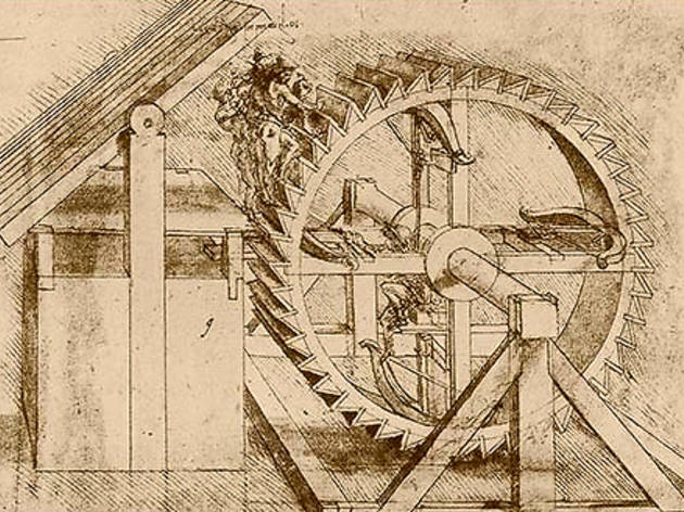 Léonard de Vinci, projets, dessins, machines