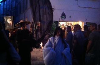 (Elle est là presque chaque année et promène son allure mystérieuse dans les rues d'Avignon... / © Barbara Chossis )