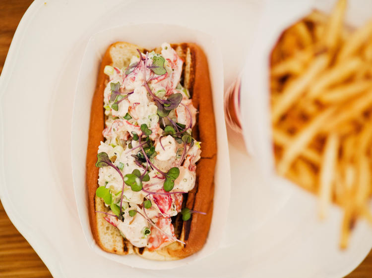 Nosh on as many lobster rolls as you can
