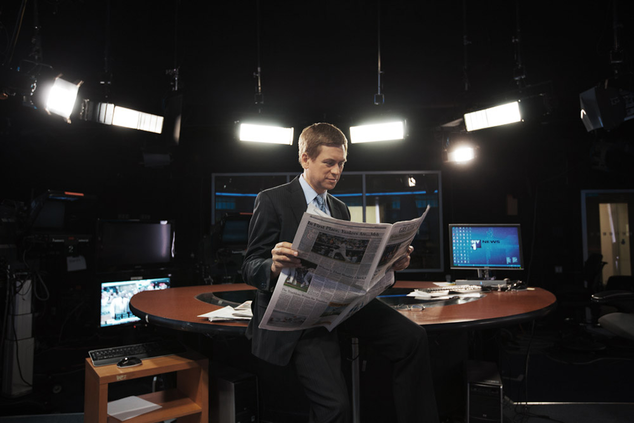 Behind-the-scenes office tour of NY1