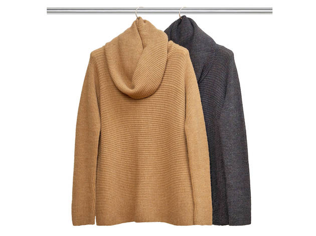 Vince oversized cowl neck sweaters, $320 each