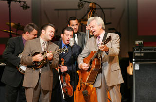 David Grisman and Del McCoury + Billy Strings and Don Julin