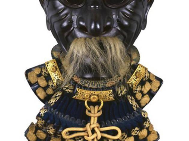 Galerie J.-C. Charbonnier (Sômen (masque d'armure japonaise), XVIIIe siècle / © DR)