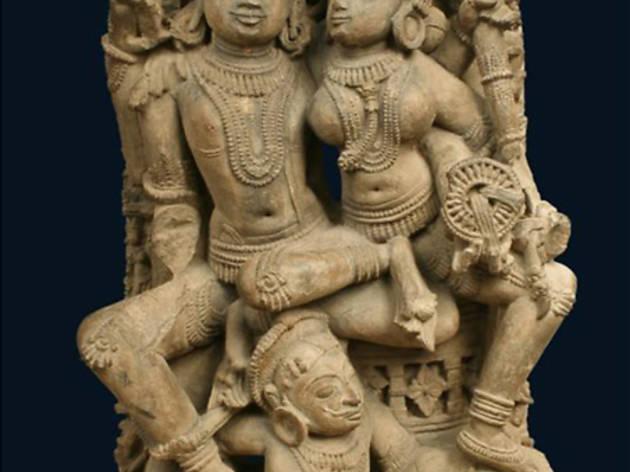 Galerie Christophe Hioco (Stèle de Vishnu et Lakshmi, Inde, XIe siècle / © DR)