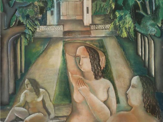 Galerie Fleury (Ossip Zadkine, 'Jeunes femmes dans un paysage', 1927 / © DR)