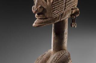 Patric Didier Claes (Statue Dogon, Mali, c. 1820 / © DR)