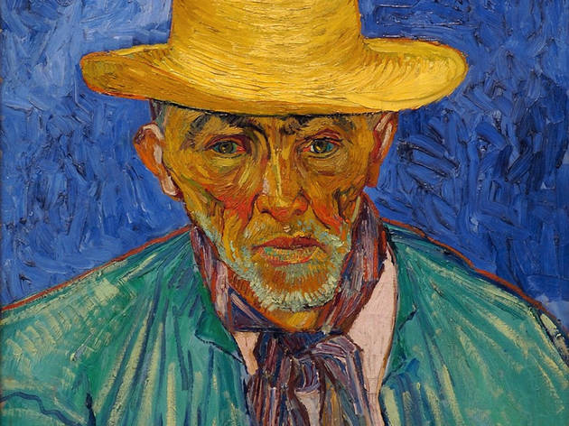 "Vincent van Gogh's ""Portrait of a Peasant (Patience Escalier)"""