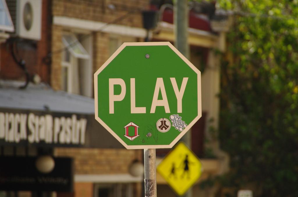 La rue comme terrain de jeux