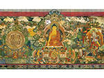Revelation of the Kalachakra Mandala to the First King