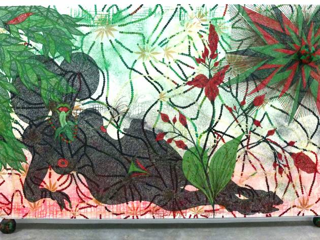 (Vue de l'exposition (Chris Ofili) / © TB - Time Out)