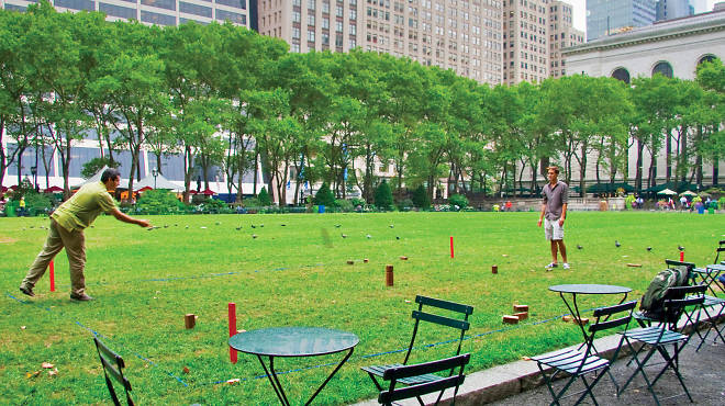 New York Parks Where To Play Outdoor Games In New York