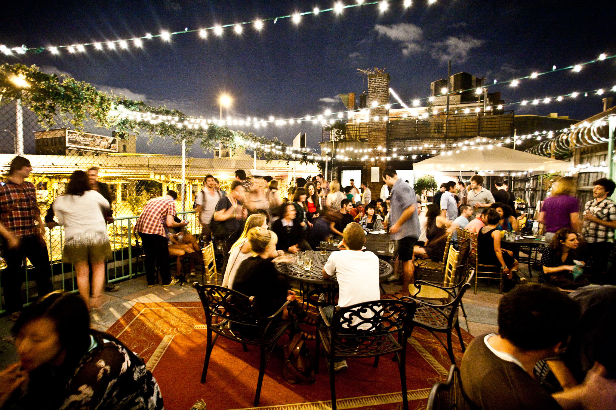 Here's a map of all the best rooftop bars in New York