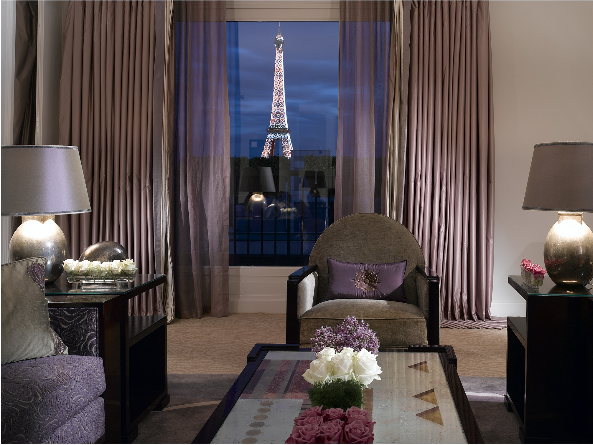 The best hotel rooms in Paris