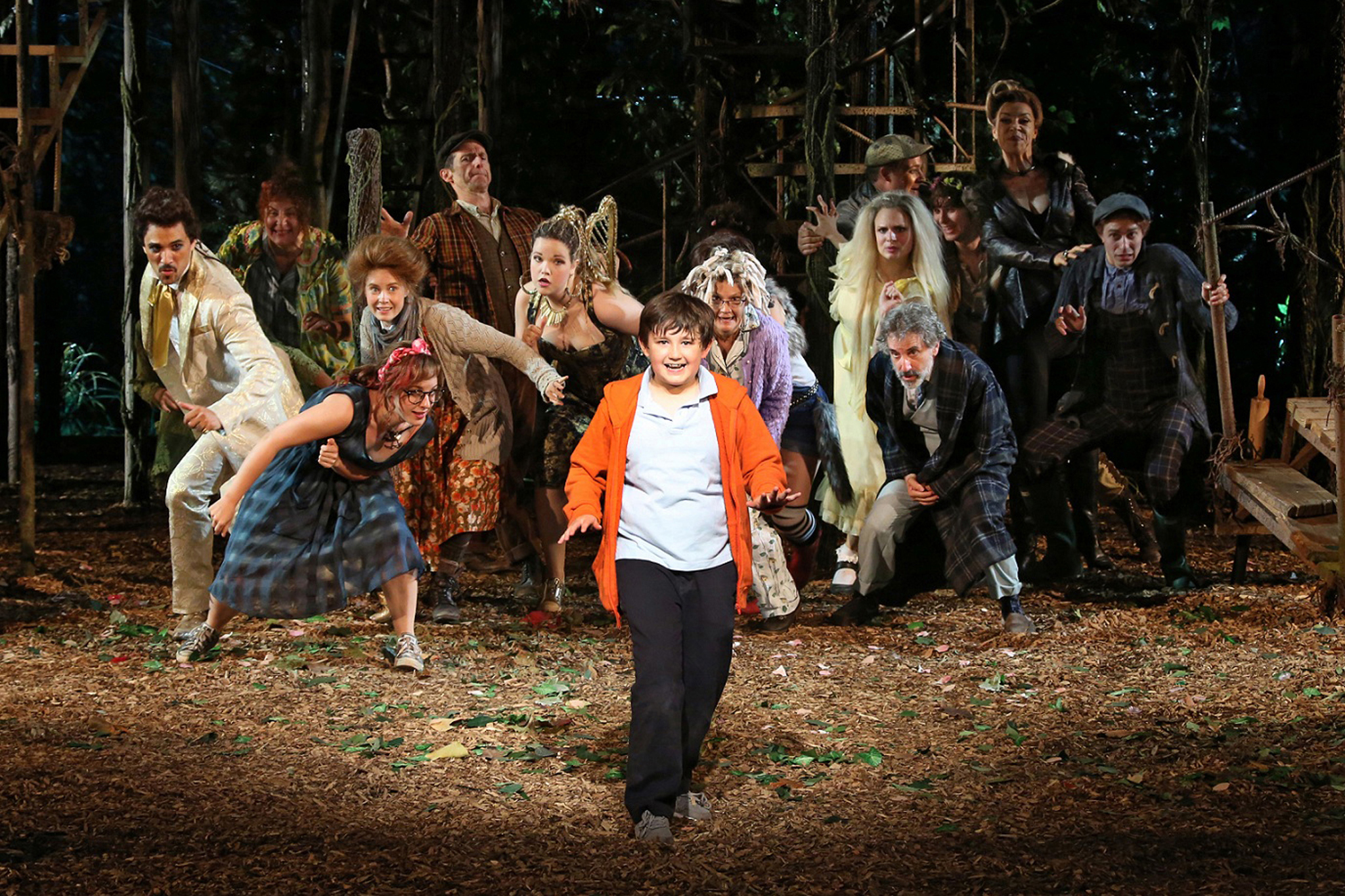 Celebrate Into The Woods With A Look Back At-playbill - HD2048×1365
