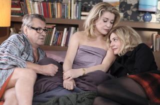 Milos Forman, Catherine Deneuve and Chiara Mastroianni in Beloved